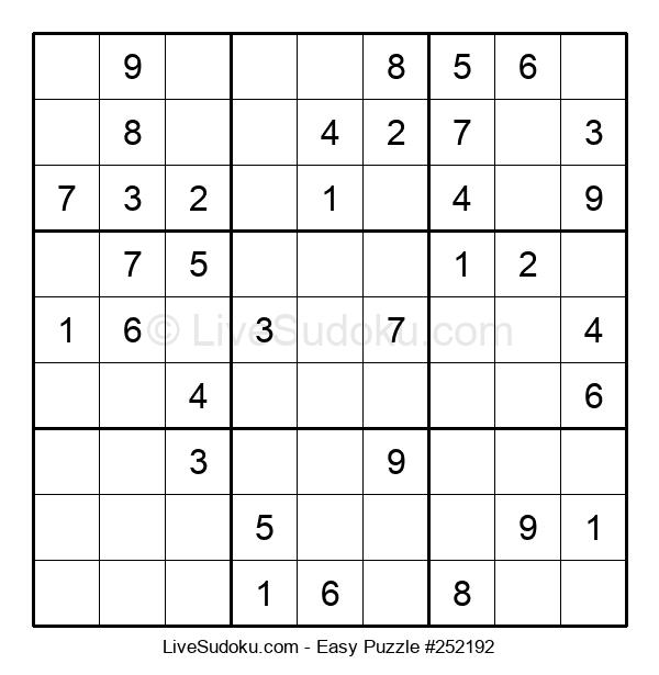 Beginners Puzzle #252192
