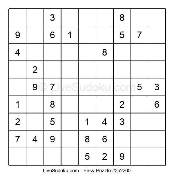 Beginners Puzzle #252205