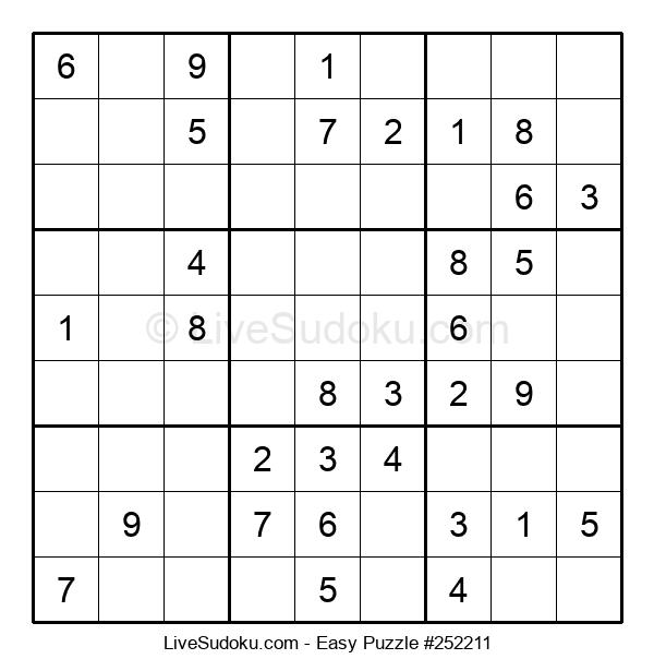 Beginners Puzzle #252211