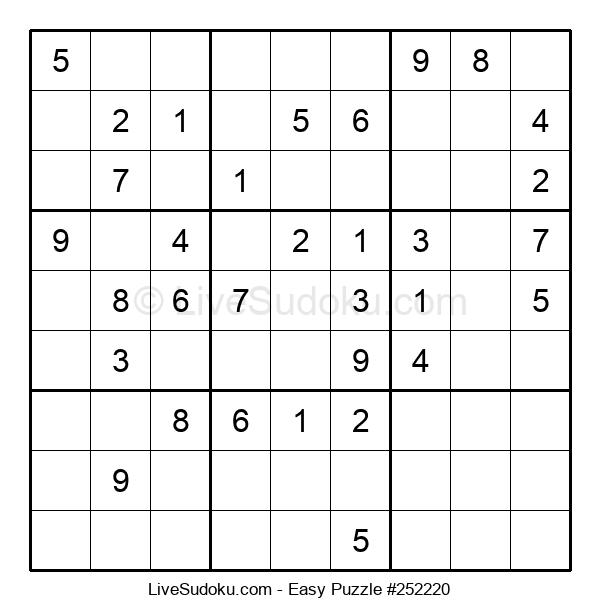 Beginners Puzzle #252220
