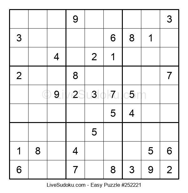 Beginners Puzzle #252221