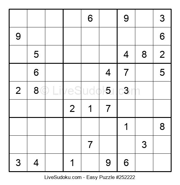 Beginners Puzzle #252222