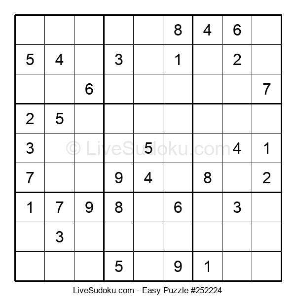 Beginners Puzzle #252224