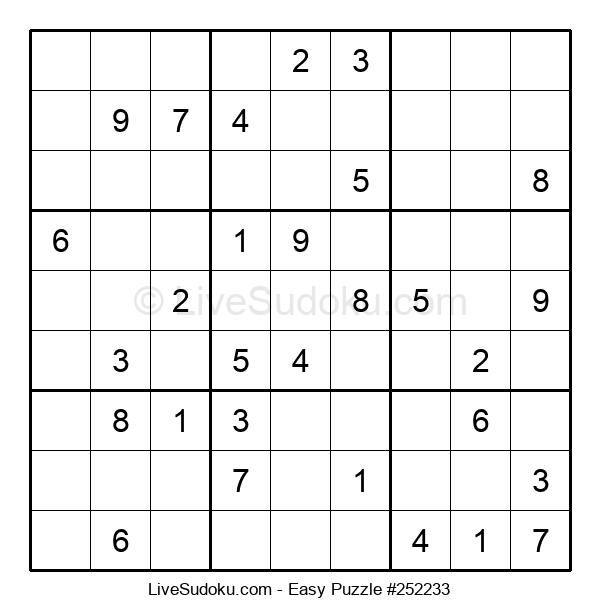 Beginners Puzzle #252233
