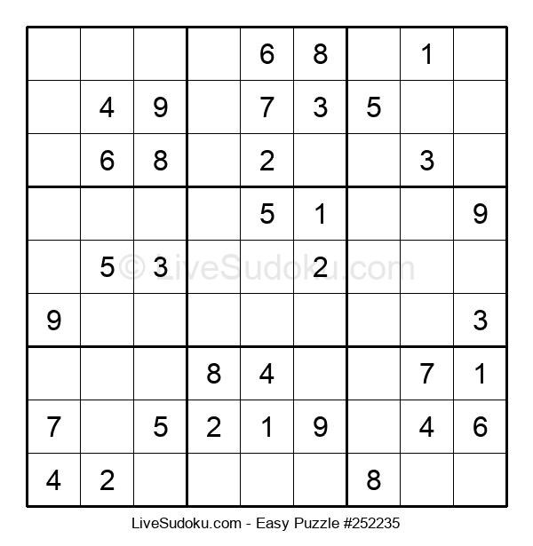Beginners Puzzle #252235