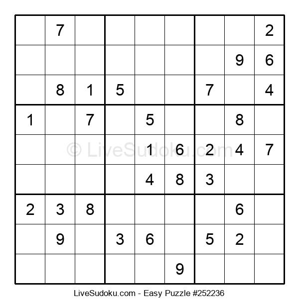 Beginners Puzzle #252236