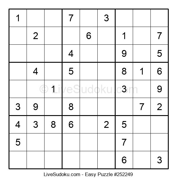 Beginners Puzzle #252249