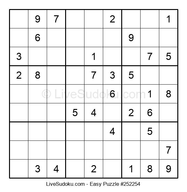 Beginners Puzzle #252254