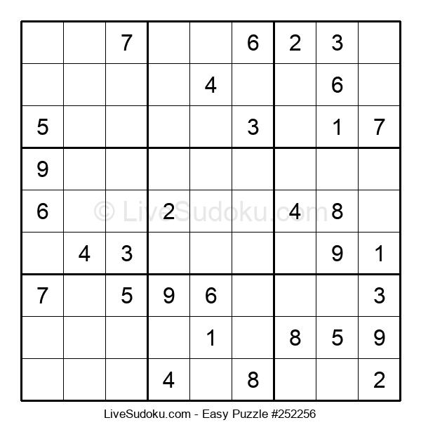 Beginners Puzzle #252256