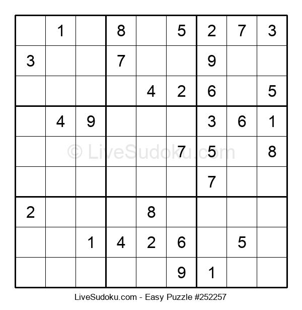 Beginners Puzzle #252257