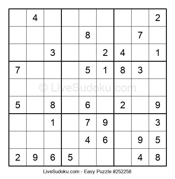 Beginners Puzzle #252258