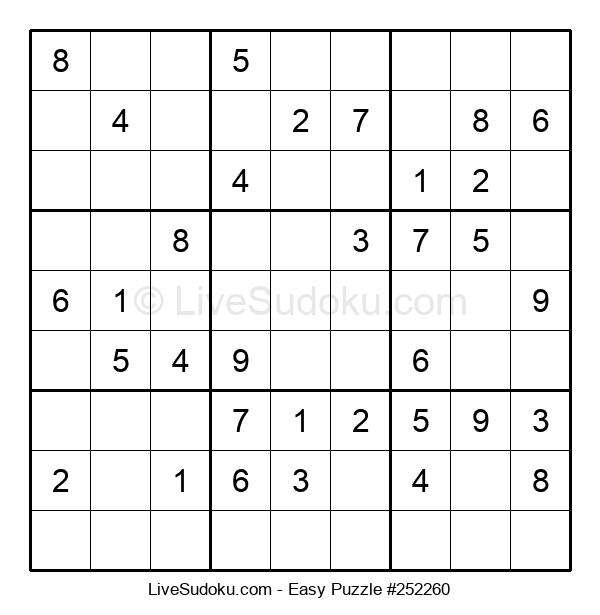 Beginners Puzzle #252260
