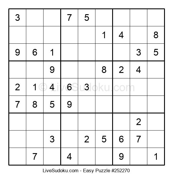 Beginners Puzzle #252270