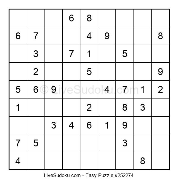 Beginners Puzzle #252274