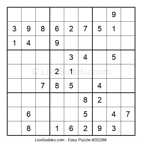 Beginners Puzzle #252288