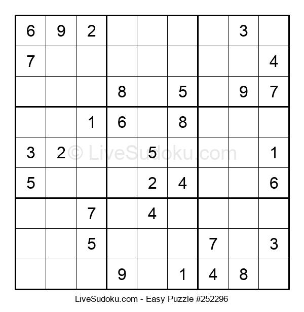 Beginners Puzzle #252296