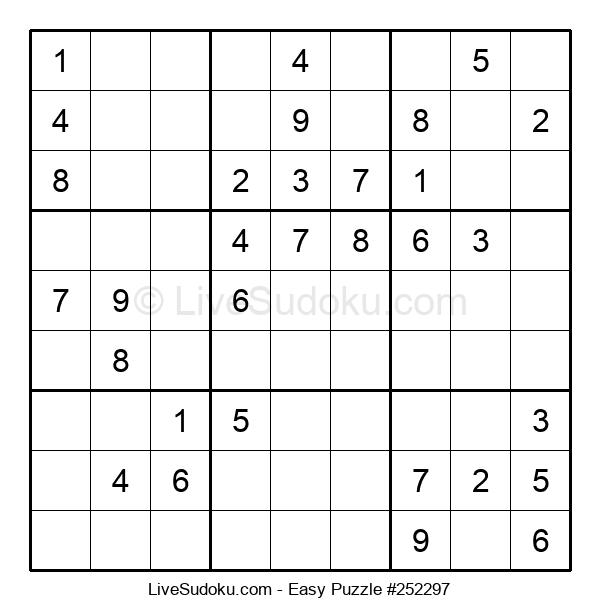 Beginners Puzzle #252297