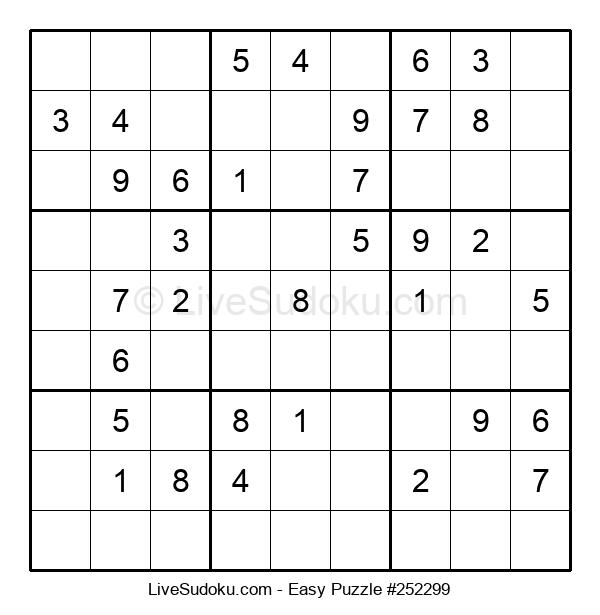 Beginners Puzzle #252299