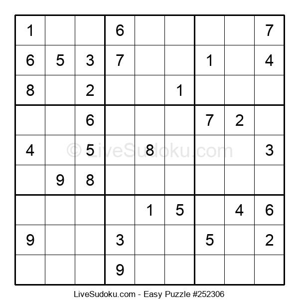 Beginners Puzzle #252306