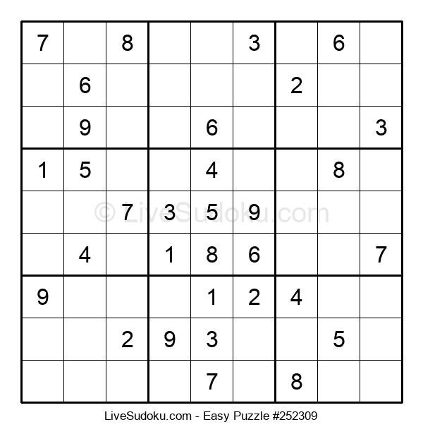 Beginners Puzzle #252309