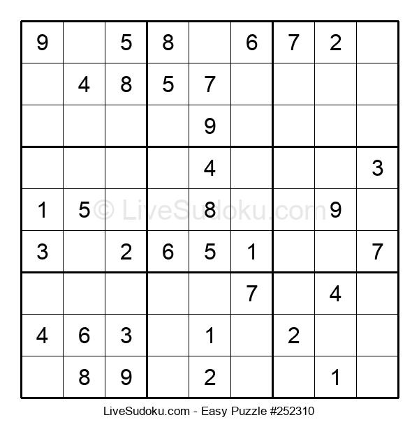 Beginners Puzzle #252310