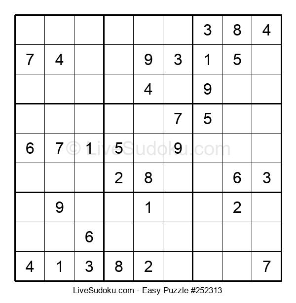 Beginners Puzzle #252313