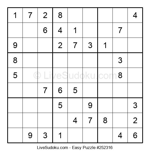 Beginners Puzzle #252316