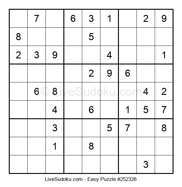 Beginners Puzzle #252326