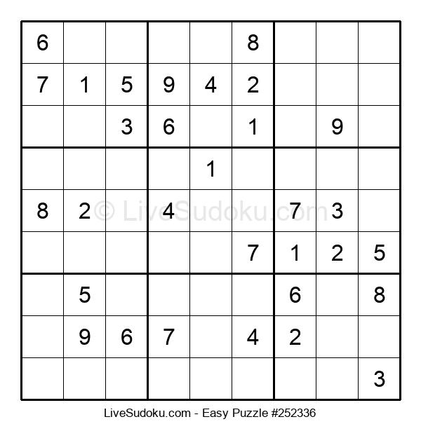 Beginners Puzzle #252336