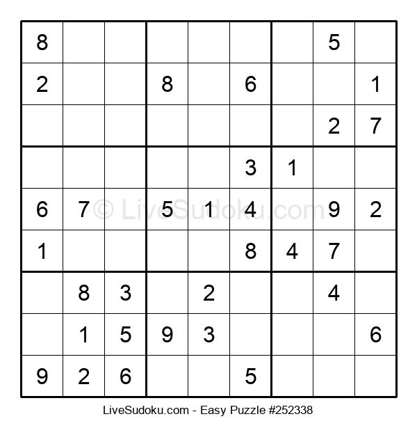 Beginners Puzzle #252338