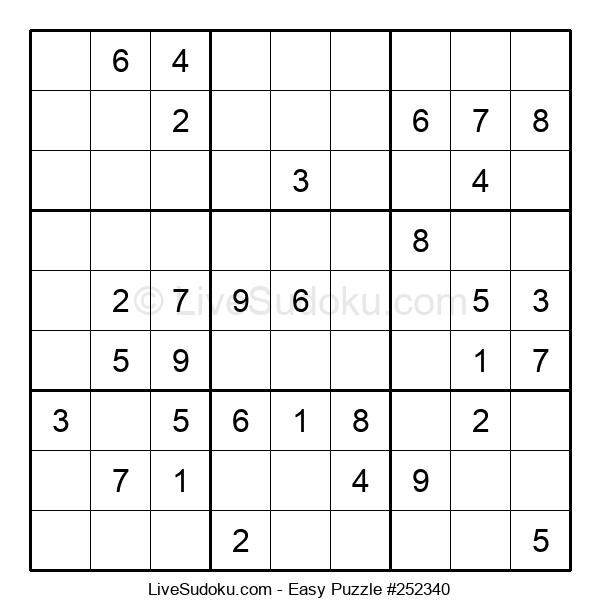 Beginners Puzzle #252340