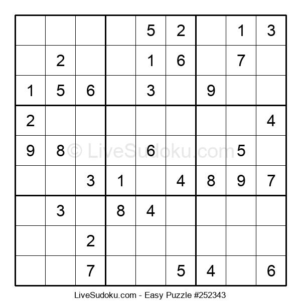 Beginners Puzzle #252343