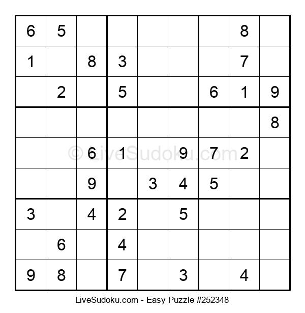 Beginners Puzzle #252348