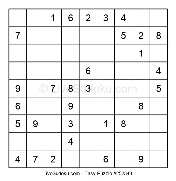 Beginners Puzzle #252349