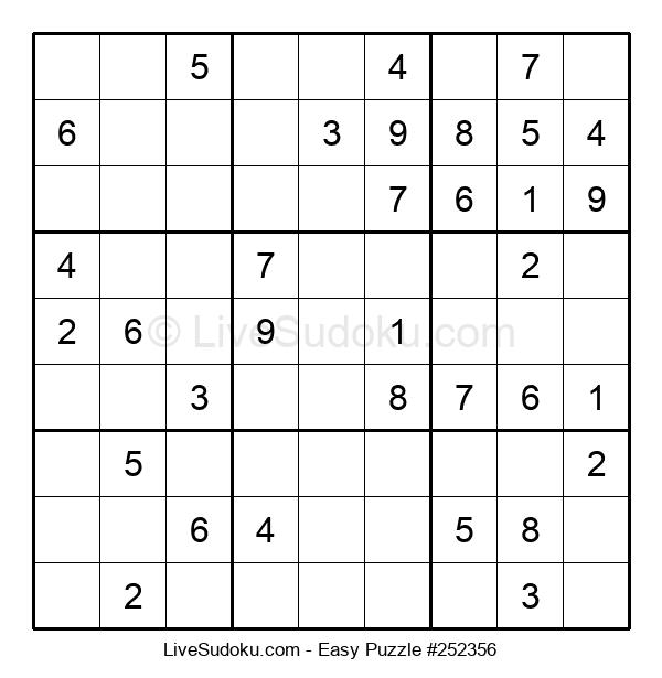 Beginners Puzzle #252356