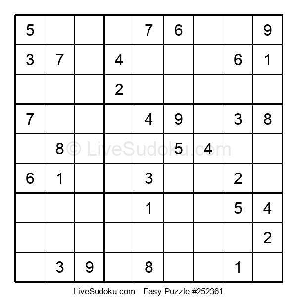 Beginners Puzzle #252361