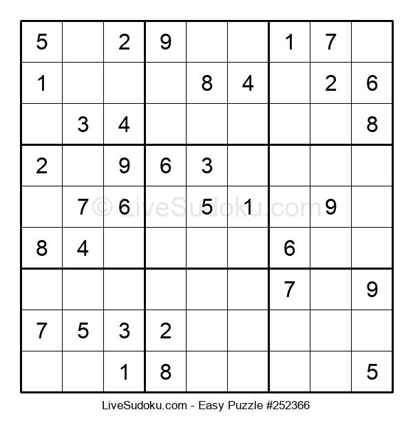Beginners Puzzle #252366