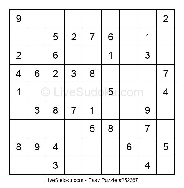 Beginners Puzzle #252367
