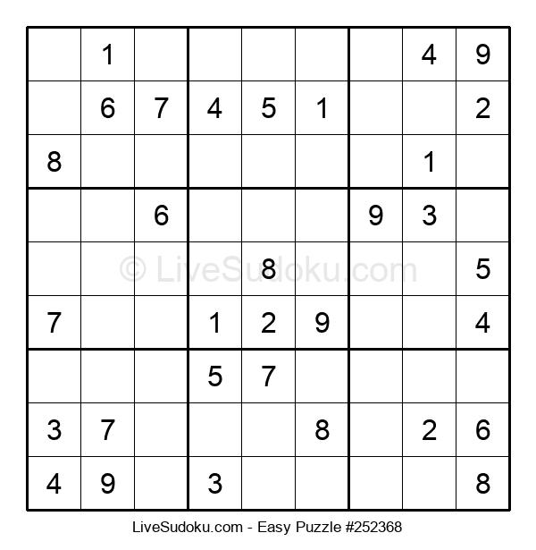 Beginners Puzzle #252368