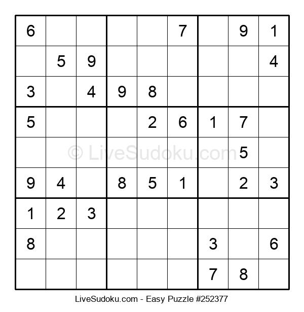 Beginners Puzzle #252377
