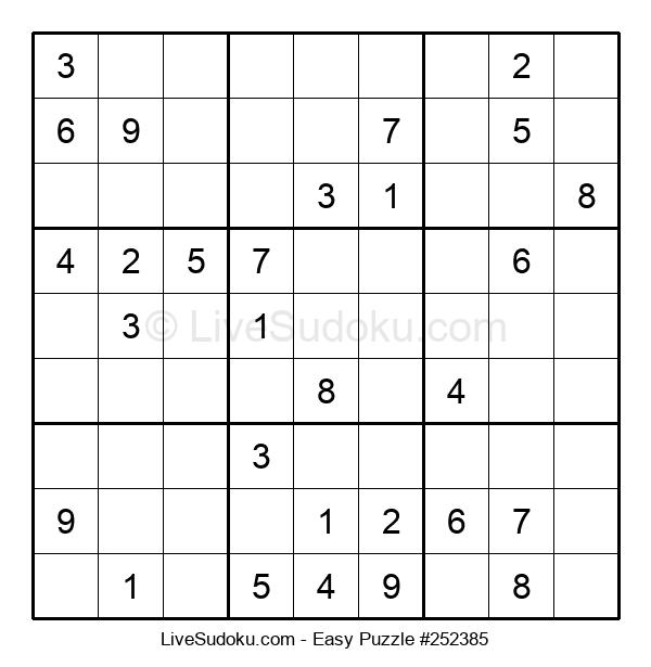 Beginners Puzzle #252385