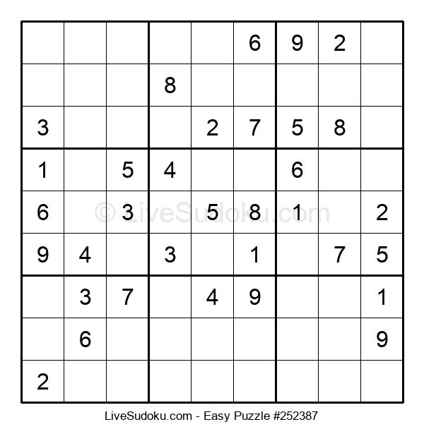 Beginners Puzzle #252387