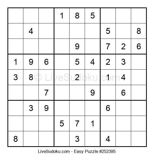 Beginners Puzzle #252395