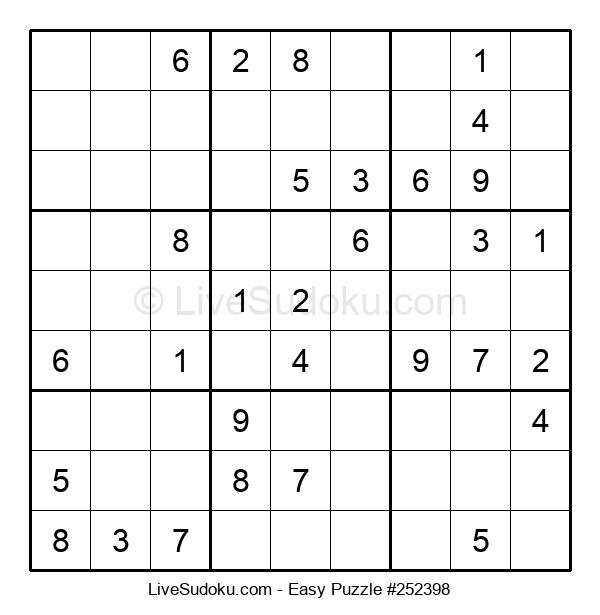 Beginners Puzzle #252398