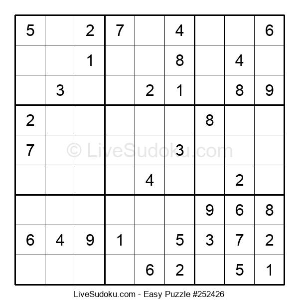 Beginners Puzzle #252426