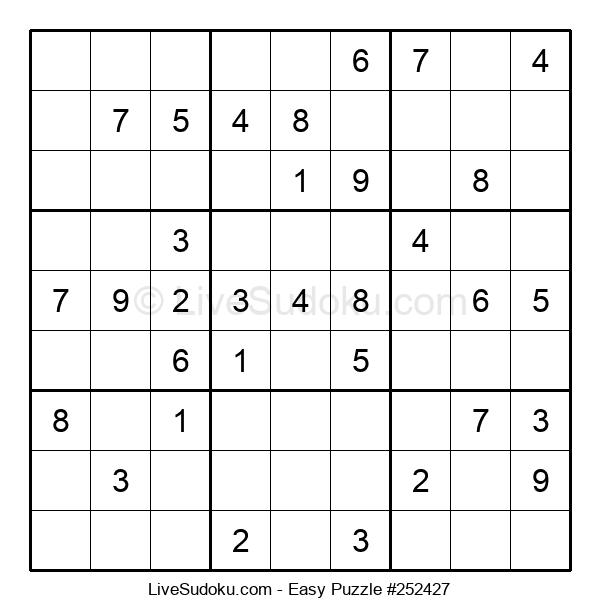 Beginners Puzzle #252427