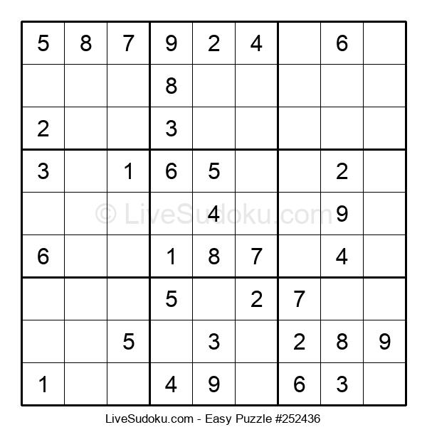 Beginners Puzzle #252436