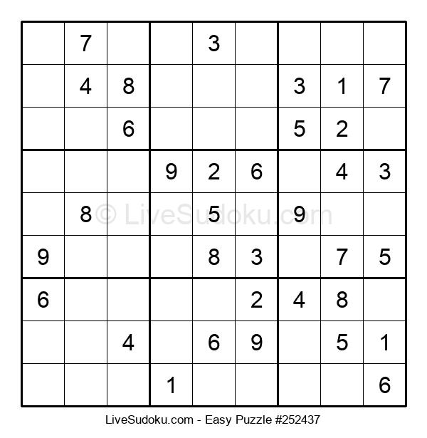 Beginners Puzzle #252437