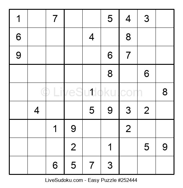 Beginners Puzzle #252444