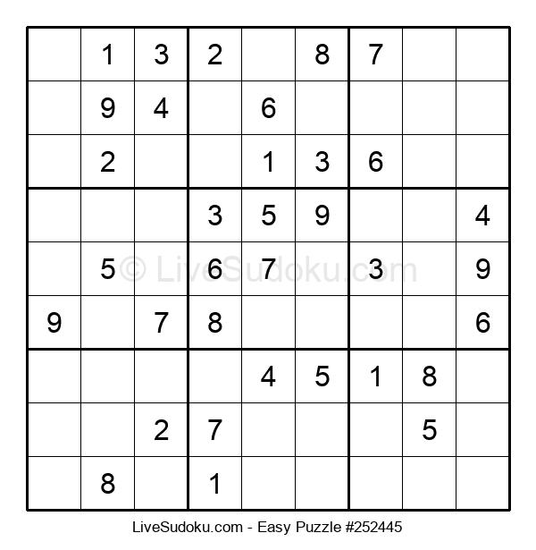 Beginners Puzzle #252445